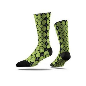 Sublimated Full Color Economy Crew Socks