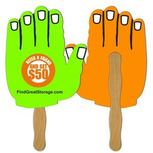 Hand Hand Fan Full Color (2 Sides)